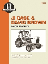 JI Case and David Brown I&T Tractor Service Manual C-203