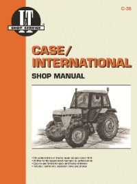 Case / International I&T Tractor Service Manual C-36