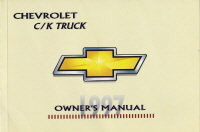 1997 Chevrolet C/K Truck Owner's Manual