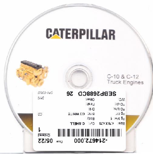 Caterpillar C-10 & C-12 On-Highway Engine Service Repair Shop Manual CD-ROM