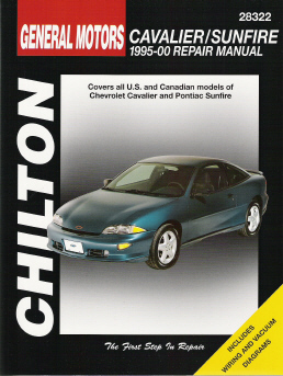 1995 - 2000 Chevrolet Cavalier & Pontiac Sunfire Chilton's Total Car Care Manual