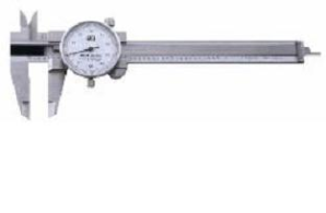 Chicago Brand 4  Pocket Dial Caliper