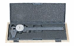 Chicago Brand Dial Caliper 6 in. (.001 in.) w/  Carbide Jaws