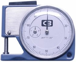 Chicago Brand Dial Thickness Gauge