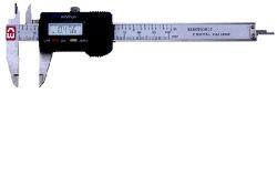 "Chicago Brand 4"" Pocket Digital Electronic Caliper with Depth Bar"
