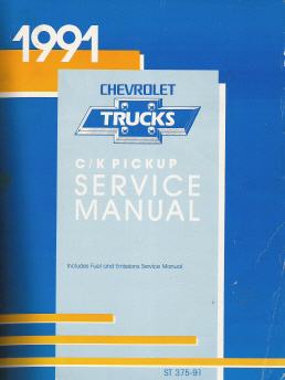 1991 Chevrolet GMC C/K Pick-Up Service Manual