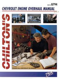 Chevrolet V-8 Engine Overhaul Manual by Chilton