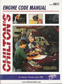 1980 - 1995 Chilton's Engine Diagnostic Code Manual