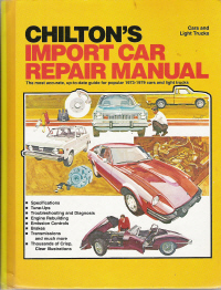 1973 - 1979 Chilton's Import Auto Repair Manual