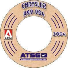 Chrysler A904-A999 Torqueflite 6 Transmission Rebuild Manual - CD-ROM