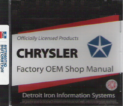 1973 Chrysler / Plymouth Factory Shop Manual on CD-ROM