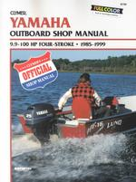 1985 - 1999 Yamaha 9.9-100hp 4-stroke Outboard Clymer Repair Manual
