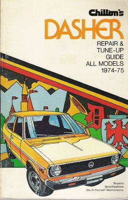 1974 - 1975 Volkswagen Dasher, Chilton's Repair & Tune-Up Guide