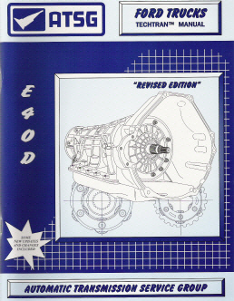 Ford E4OD Transmission Rebuild Manual