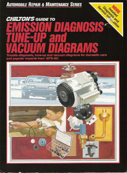 1979 - 1980 Chilton's Guide to Emission Diagnosis, Tune-Up and Vacuum Diagrams