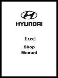 1987 Hyundai Excel Factory Shop Manual
