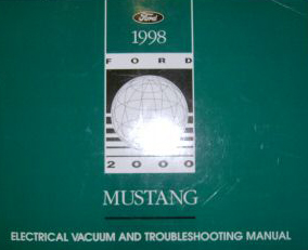 1998 Ford Mustang Electrical and Vacuum Troubleshooting Manual