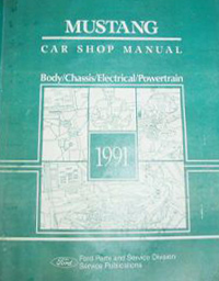 1991 Ford Mustang Factory Service Manual