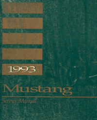 1993 Ford Mustang Factory Service Manual