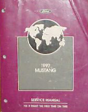 1997 Ford Mustang Factory Service Manual