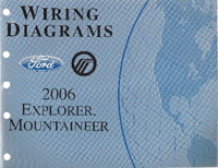 2006 Ford Explorer & Mercury Mountaineer Factory Wiring Diagram Manual