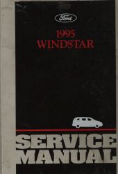 1995 Ford Windstar Service Manual