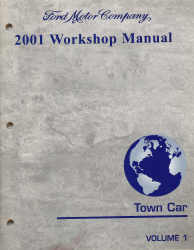 2001 Lincoln Town Car Workshop Manual