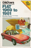 1969-1981 Fiat Chilton's Repair & Tune-Up Guide