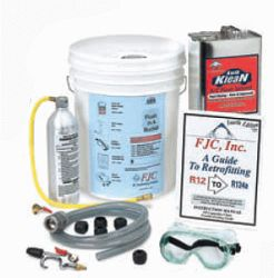 Flush In A Bucket Automotive Air Conditioning Flush Kit
