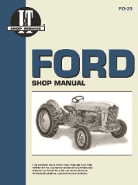Ford I&T Tractor Service Manual FO-20