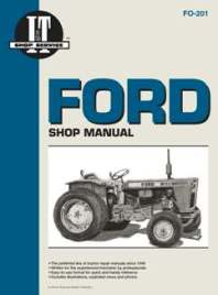 Ford I&T Tractor Service Manual FO-201
