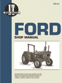 Ford I&T Tractor Service Manual FO-41