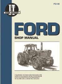 Ford I&T Tractor Service Manual FO-45