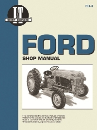 Ford I&T Tractor Service Manual FO-4A