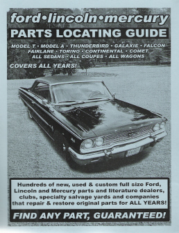 Ford Lincoln Mercury Parts Locating Guide