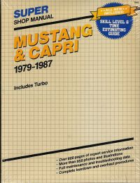 1979 - 1987 Ford Mustang & Capri, Includes Turbo Models by Clymer