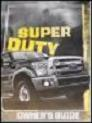 2013 Ford F-250, F-350, F-450 & F-550 Truck Factory Owner's Manual