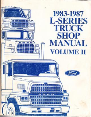 1983-1987 Ford L-Series Heavy Truck Factory Service Manual, Volume 2