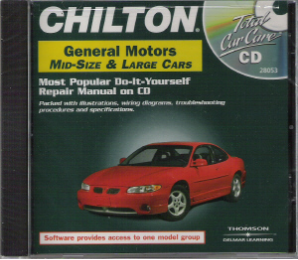 1982 - 2000 Chilton's GM Full-Size & Mid-Size Cars Repair CD-ROM