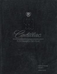1993 Cadillac Eldorado and Seville Factory Service Manual - 2 Volume Set