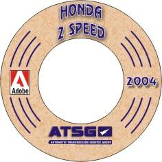 HONDA 2 Speed Transaxle Manual on CD-ROM
