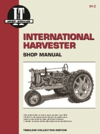 International Harvester I&T Tractor Service Manual IH-2