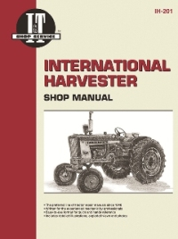 International Harvester I&T Tractor Service Manual IH-201