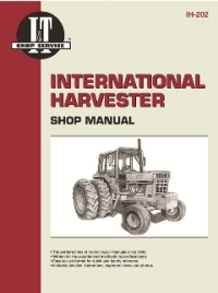 International Harvester I&T Tractor Service Manual IH-202