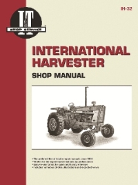 International Harvester I&T Tractor Service Manual IH-32