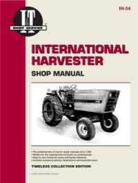 International Harvester I&T Tractor Service Manual IH-54