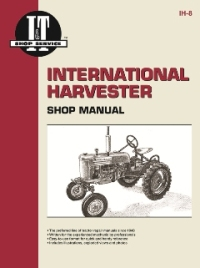 International Harvester I&T Tractor Service Manual IH-8