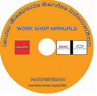 2007 - 2009 Chevy GMC T6500 T7500 T8500 & Isuzu FTR FVR FXR (7.8L 6HK1 LF8 Diesel Only) Factory Repair Manual CD