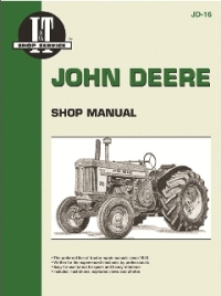 John Deere I&T Tractor Service Manual JD-16
