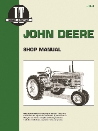 John Deere I&T Tractor Service Manual JD-4